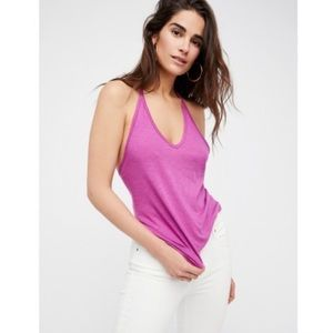 ❤️Free People Strappy T Back Tank Top